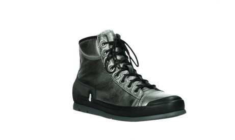 wolky lace up boots 02777 watson 30280 metal leather_4
