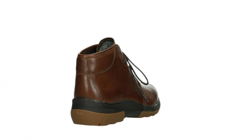 wolky lace up boots 03027 dub cw 24430 cognac leather_21