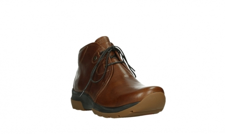 wolky lace up boots 03027 dub cw 24430 cognac leather_5