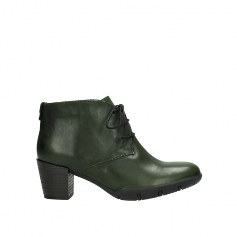 wolky lace up boots 03675 bighorn 30732 forestgreen leather