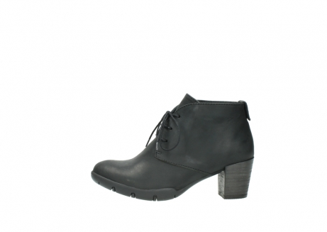 wolky lace up boots 03675 bighorn 50000 black oiled leather_1