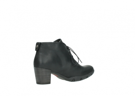 wolky lace up boots 03675 bighorn 50000 black oiled leather_11
