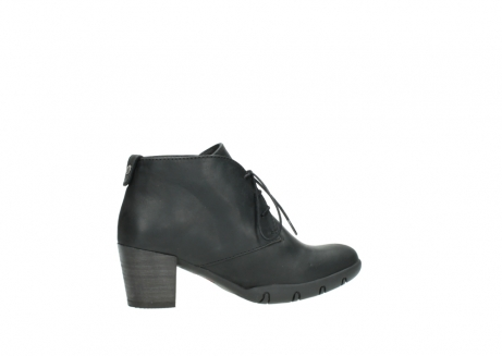 wolky lace up boots 03675 bighorn 50000 black oiled leather_12