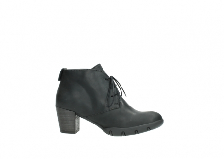 wolky lace up boots 03675 bighorn 50000 black oiled leather_14