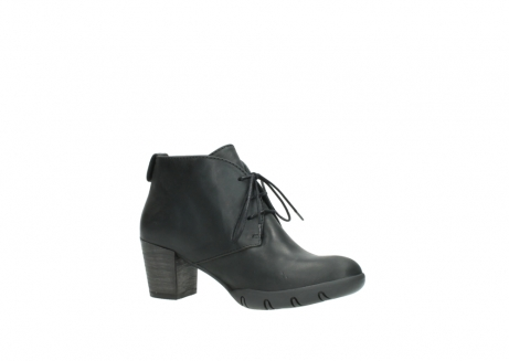 wolky lace up boots 03675 bighorn 50000 black oiled leather_15