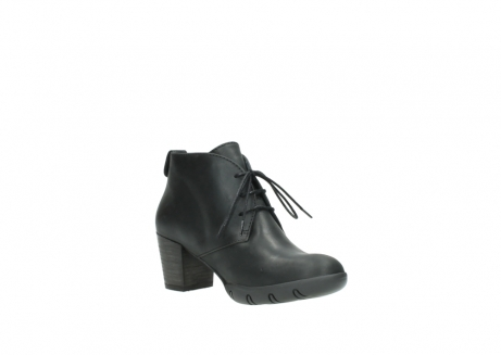 wolky lace up boots 03675 bighorn 50000 black oiled leather_16