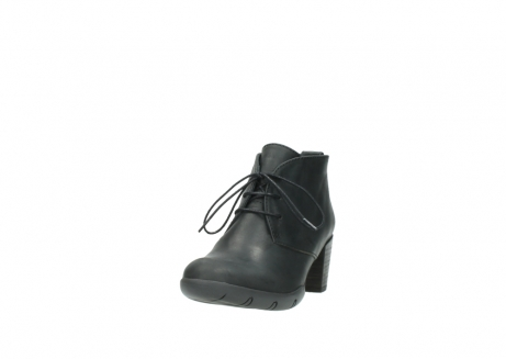 wolky lace up boots 03675 bighorn 50000 black oiled leather_21