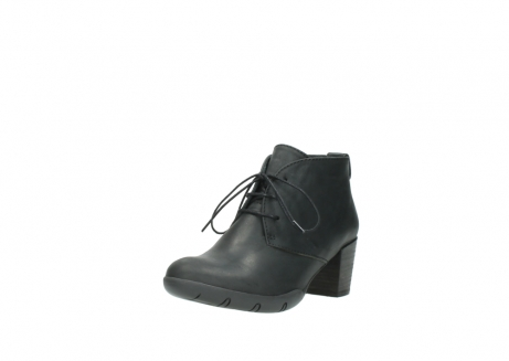 wolky lace up boots 03675 bighorn 50000 black oiled leather_22