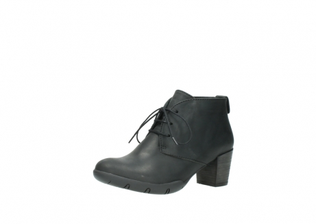 wolky lace up boots 03675 bighorn 50000 black oiled leather_23