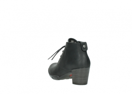 wolky lace up boots 03675 bighorn 50000 black oiled leather_5
