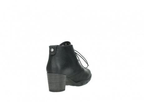 wolky lace up boots 03675 bighorn 50000 black oiled leather_9