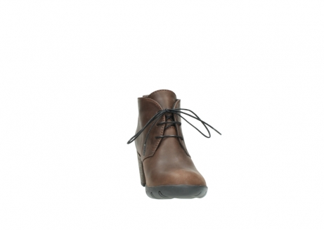wolky lace up boots 03675 bighorn 50300 brown oiled leather_18