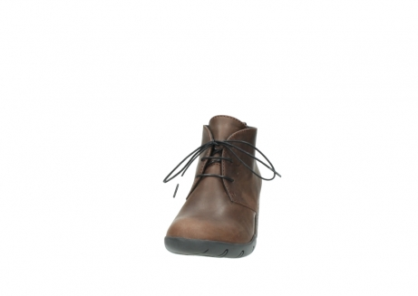 wolky lace up boots 03675 bighorn 50300 brown oiled leather_20