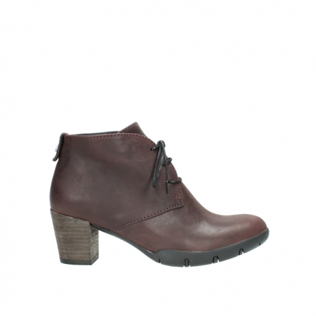 wolky lace up boots 03675 bighorn 50510 burgundy oiled leather