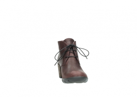wolky lace up boots 03675 bighorn 50510 burgundy oiled leather_18