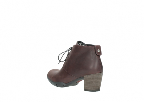 wolky lace up boots 03675 bighorn 50510 burgundy oiled leather_4