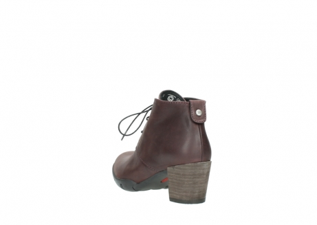 wolky lace up boots 03675 bighorn 50510 burgundy oiled leather_5