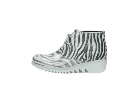 wolky lace up boots 03810 dusky 90120 zebraprint metallic leather_1