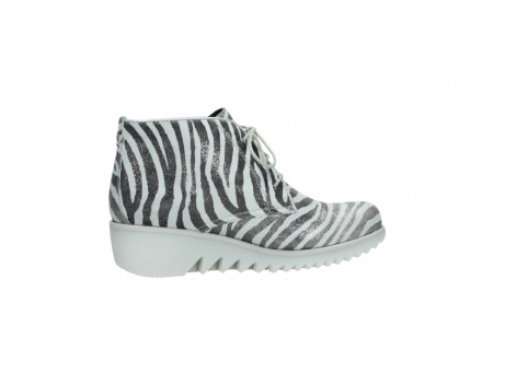 wolky lace up boots 03810 dusky 90120 zebraprint metallic leather_12