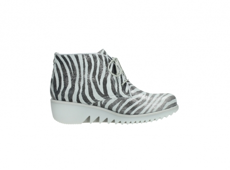 wolky lace up boots 03810 dusky 90120 zebraprint metallic leather_13