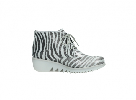 wolky lace up boots 03810 dusky 90120 zebraprint metallic leather_14