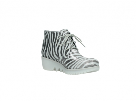 wolky lace up boots 03810 dusky 90120 zebraprint metallic leather_16