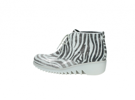 wolky lace up boots 03810 dusky 90120 zebraprint metallic leather_2