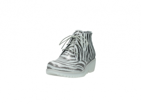 wolky lace up boots 03810 dusky 90120 zebraprint metallic leather_21