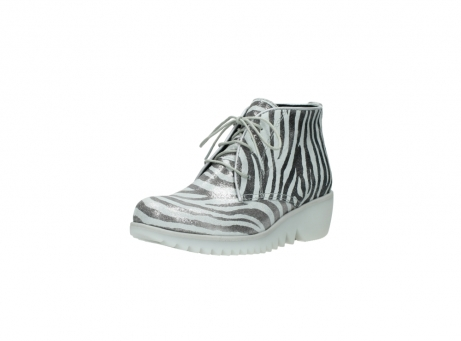 wolky lace up boots 03810 dusky 90120 zebraprint metallic leather_22