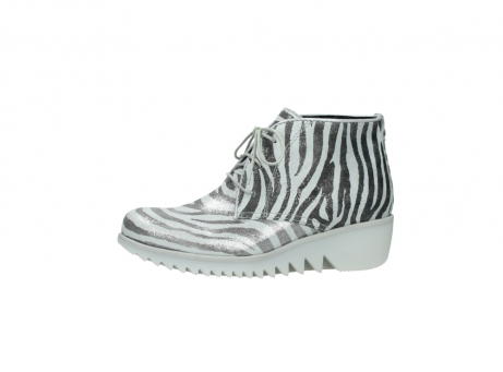 wolky lace up boots 03810 dusky 90120 zebraprint metallic leather_24