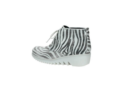 wolky lace up boots 03810 dusky 90120 zebraprint metallic leather_3