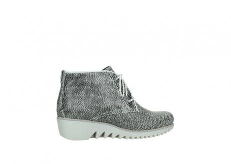 wolky lace up boots 03810 dusky 920 grey leather canvas_12