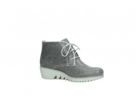 wolky lace up boots 03810 dusky 920 grey leather canvas_15