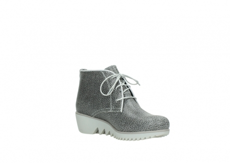 wolky lace up boots 03810 dusky 920 grey leather canvas_16