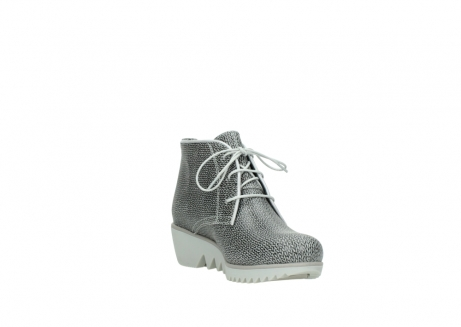 wolky lace up boots 03810 dusky 920 grey leather canvas_17