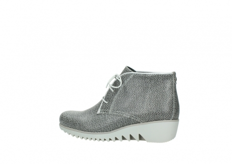 wolky lace up boots 03810 dusky 920 grey leather canvas_2