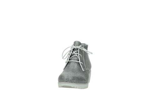 wolky lace up boots 03810 dusky 920 grey leather canvas_20