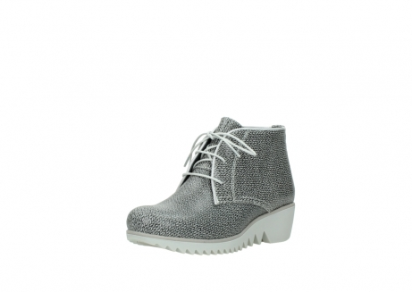 wolky lace up boots 03810 dusky 920 grey leather canvas_22