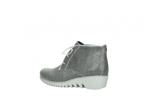 wolky lace up boots 03810 dusky 920 grey leather canvas_3