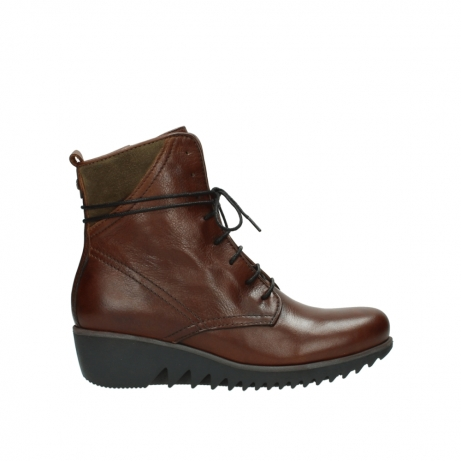 wolky boots 03812 rusty 20430 cognac leder