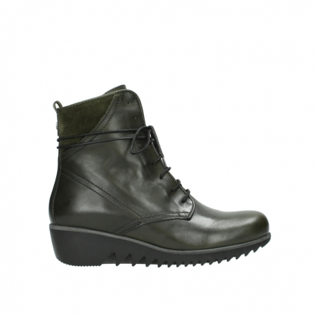 wolky boots 03812 rusty 20730 forest grun leder