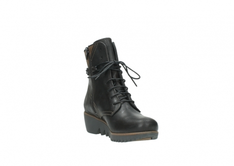wolky lace up boots 03812 rusty 50300 brown oiled leather_17