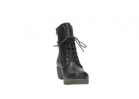 wolky lace up boots 03812 rusty 50300 brown oiled leather_18