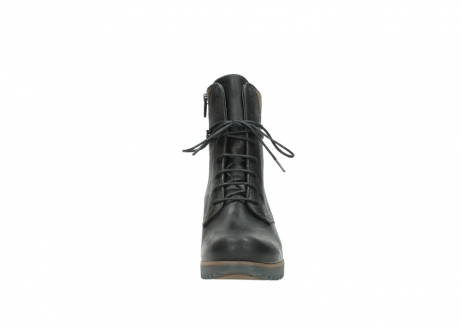 wolky lace up boots 03812 rusty 50300 brown oiled leather_19