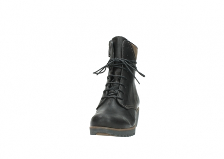 wolky lace up boots 03812 rusty 50300 brown oiled leather_20