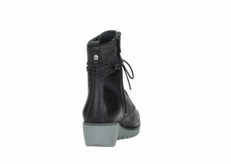 wolky boots 03812 rusty 50600 dunkellila schwarz geoltes leder_8
