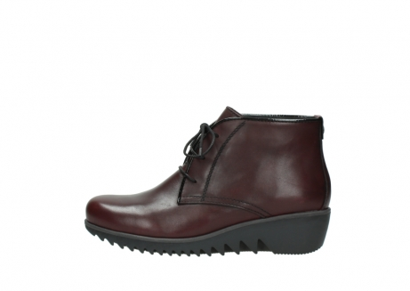 wolky lace up boots 03818 dusky winter 20510 burgundy leather_1