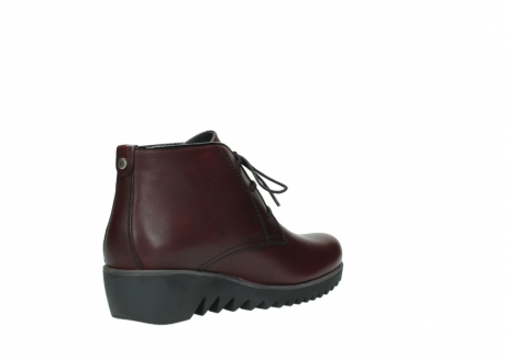 wolky lace up boots 03818 dusky winter 20510 burgundy leather_10