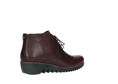 wolky lace up boots 03818 dusky winter 20510 burgundy leather_11