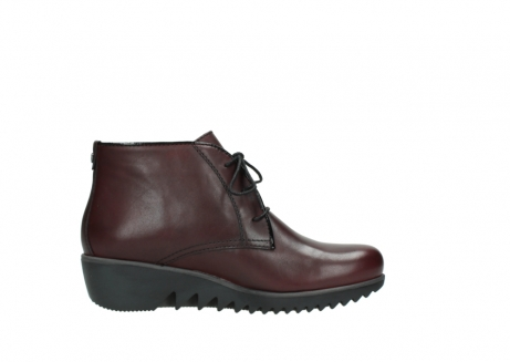 wolky lace up boots 03818 dusky winter 20510 burgundy leather_13